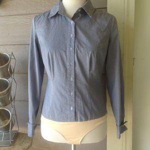 NWOT chadwick bodysuit button down dress shirt